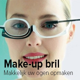 Make-up bril banner klein