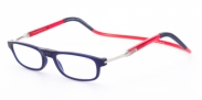 Clic Flex Frosted donker blauw / rood