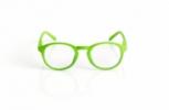 Blueberry Glasses Retro lime Lime