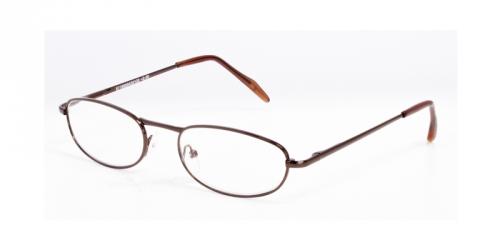 7cd9a70b9861fe HIP Leesbril metaal bruin
