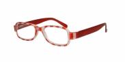 HIP Leesbril rood streep +2.5